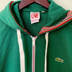 LACOSTE Live! sweater with zipper